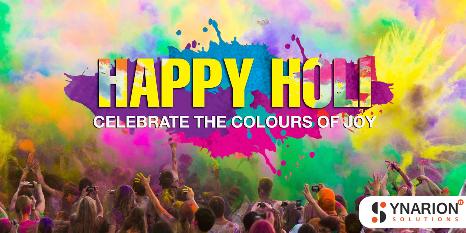 Let's Celebrate The Holi Festival 2019 With Synarion IT Solutions