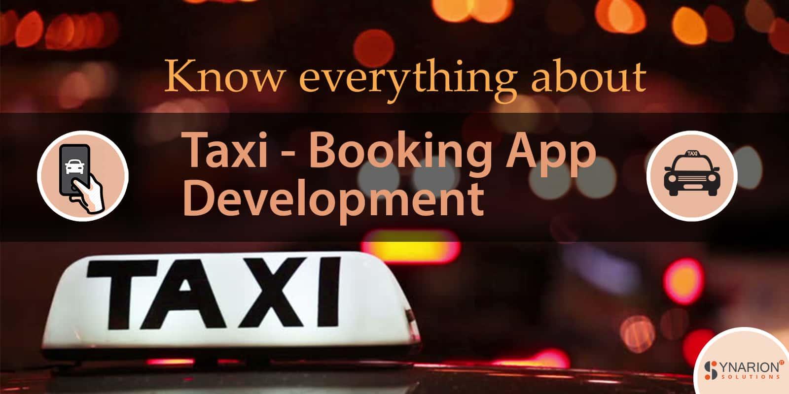 On Demand Taxi App Development