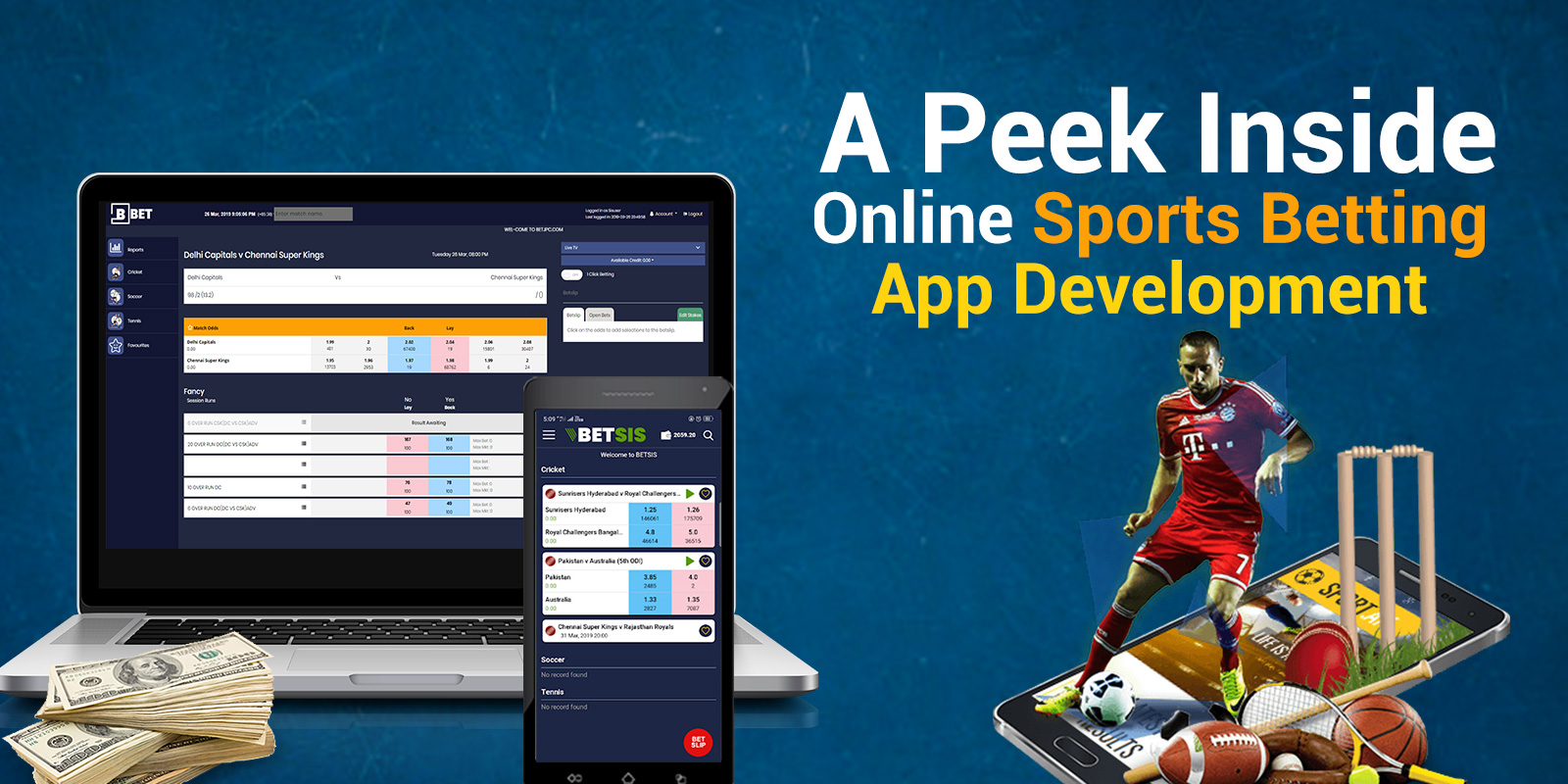 A Peek Inside Online Sports Betting Mobile App Development