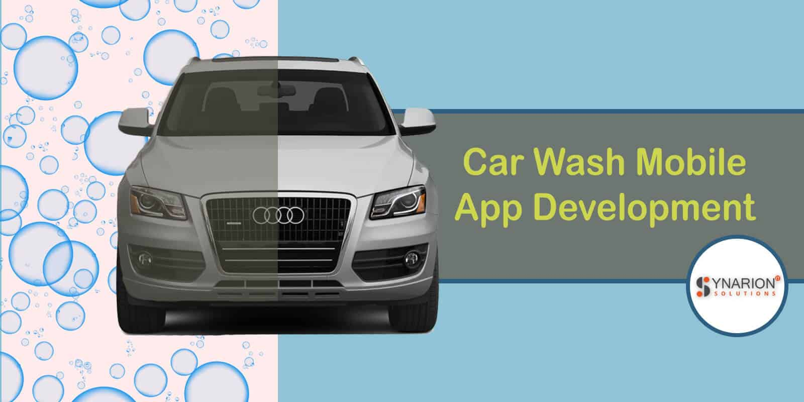 Car wash mobile app development