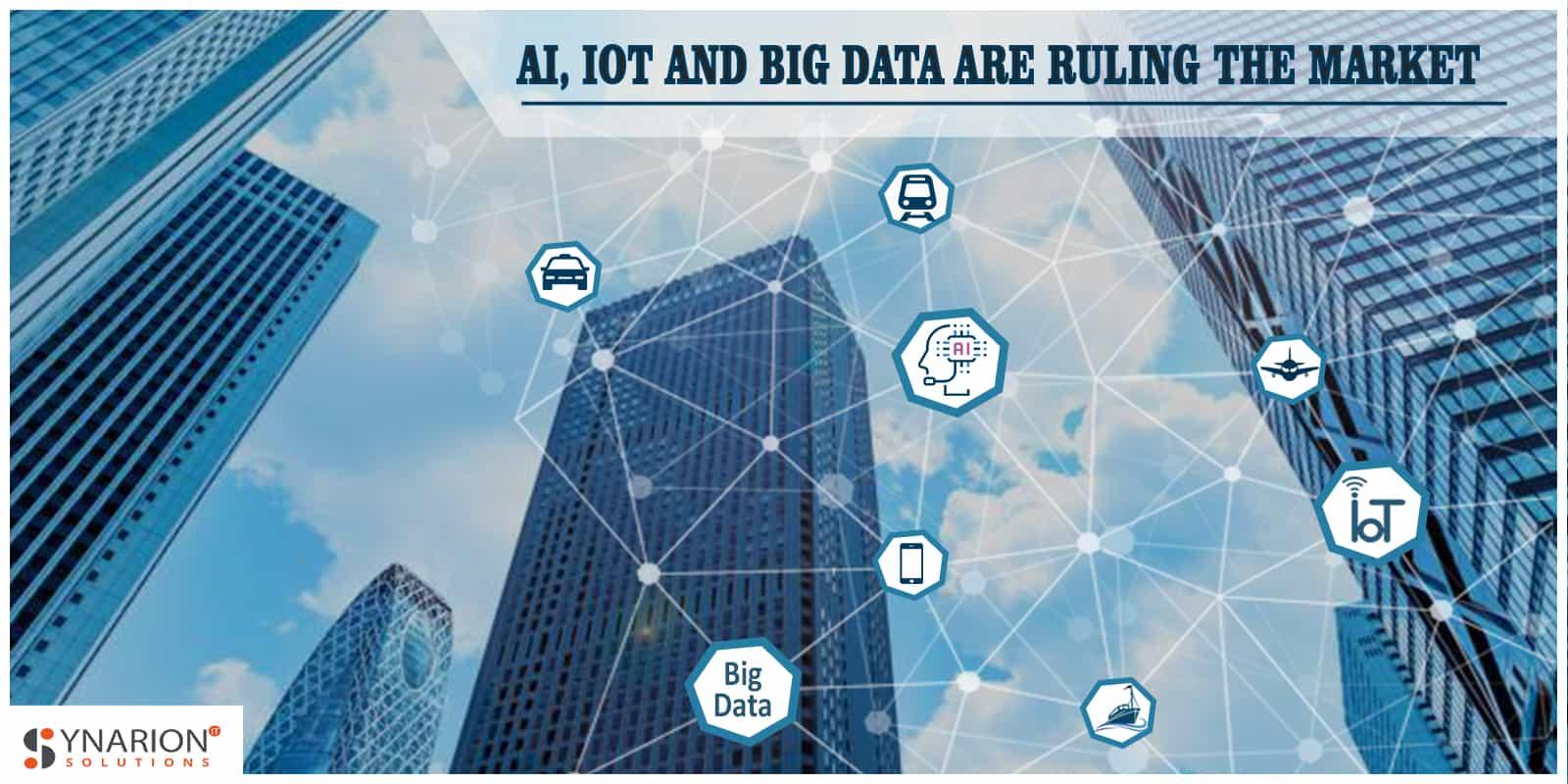 Iot, AI, Big Data in transportation market
