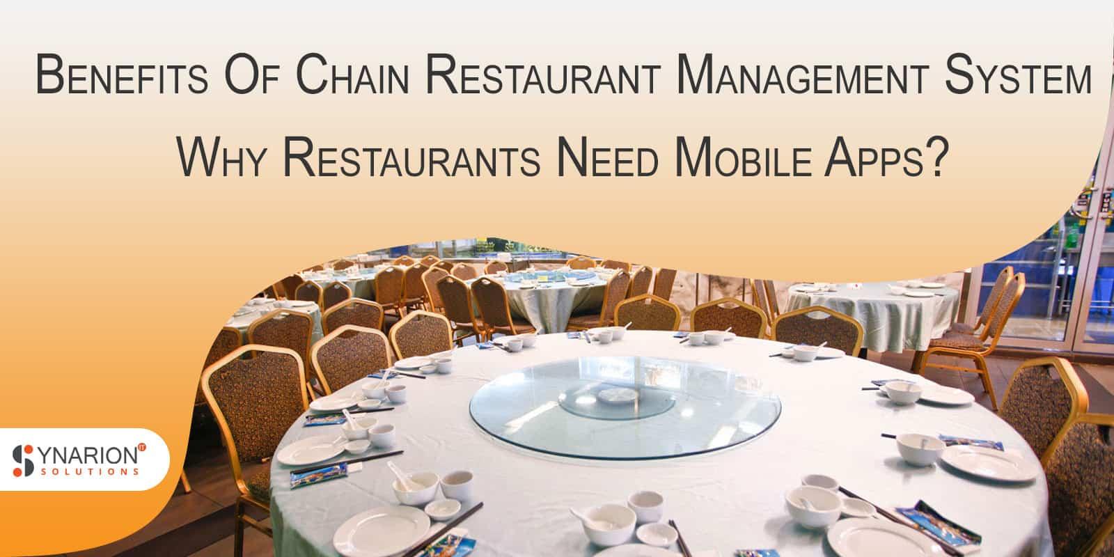 Restaurant Management system