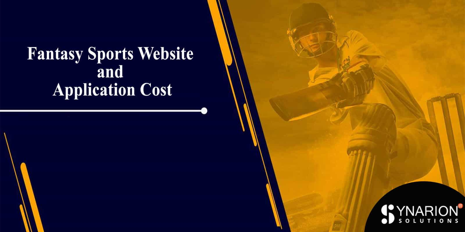 Fantasy Sports Website and Application Cost
