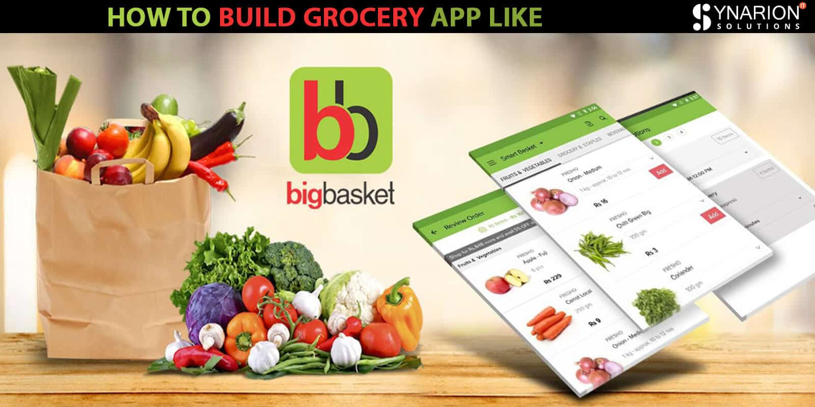 How to build Grocery App Like BIGBASKET