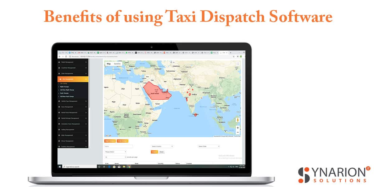 Benefits of using Taxi Dispatch Software