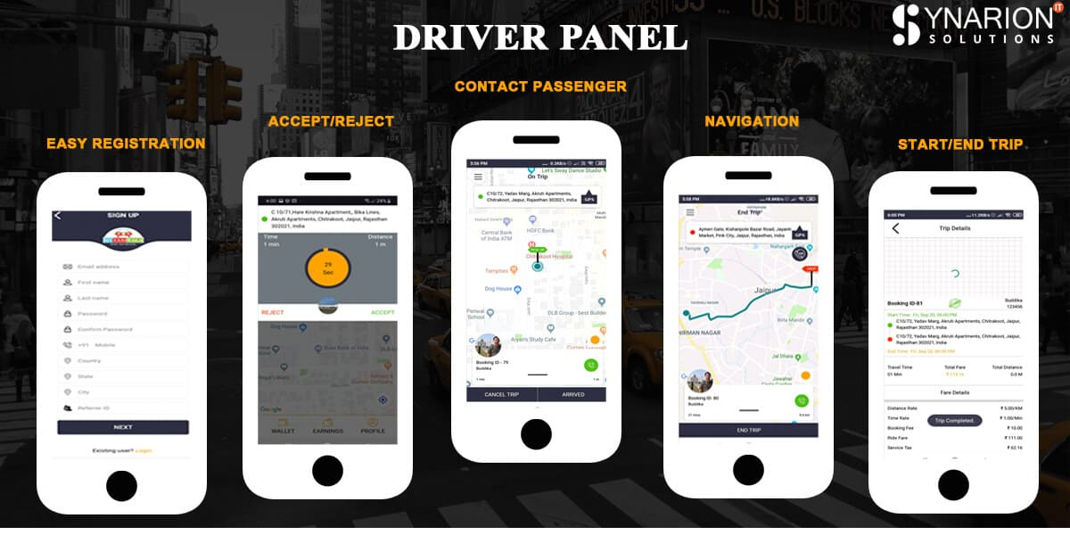 Driver Panel
