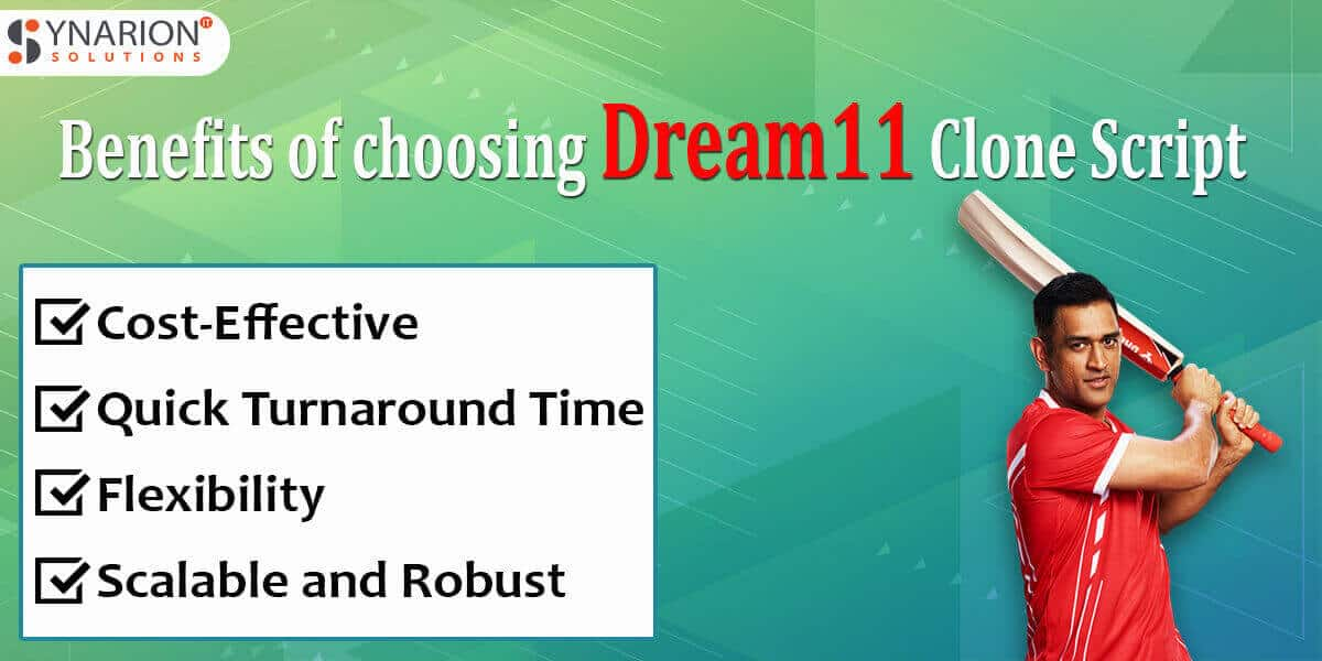 Benefits of choosing Dream11 Clone Script
