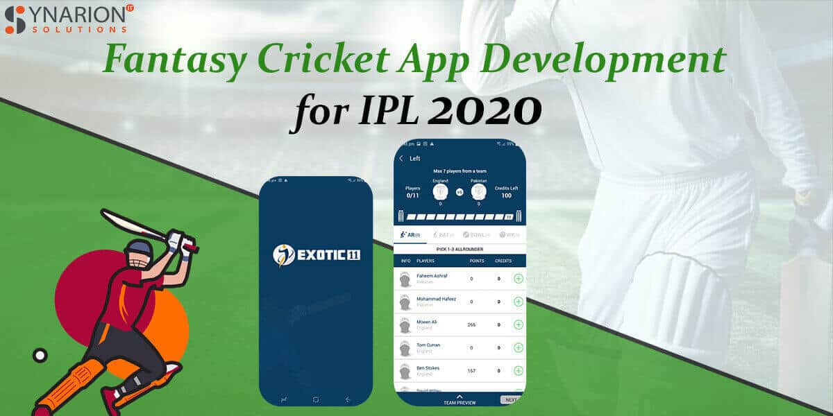 Get Fantasy Cricket App Development for IPL 2020
