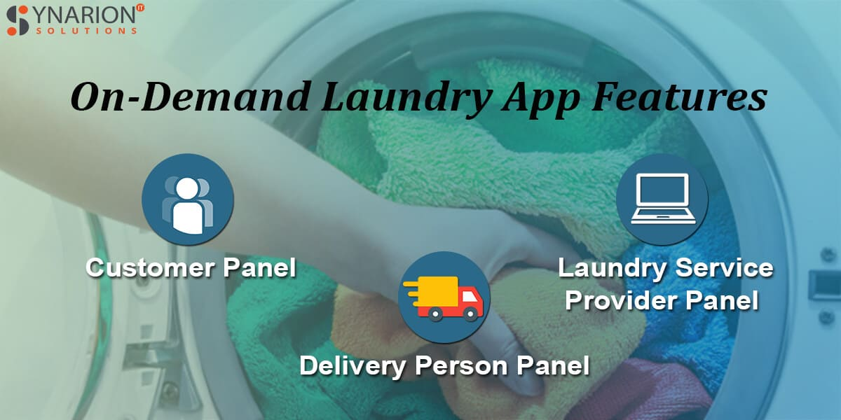 On-Demand Laundry App Features