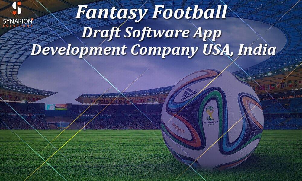 Fantasy Football Draft Software App Development USA, India