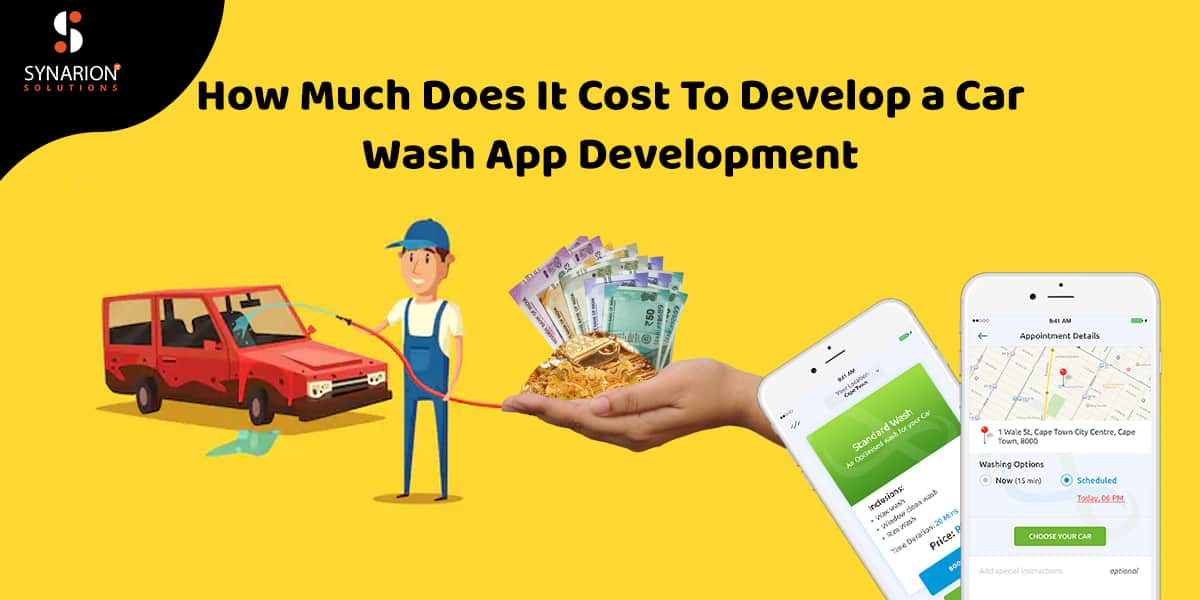 Cost to car wash app development