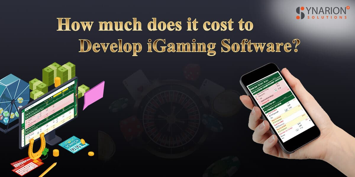 How Much Does It Cost To Develop iGaming Software?