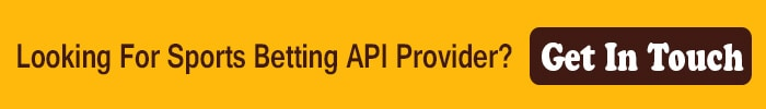 Looking For Sports Betting API Provider
