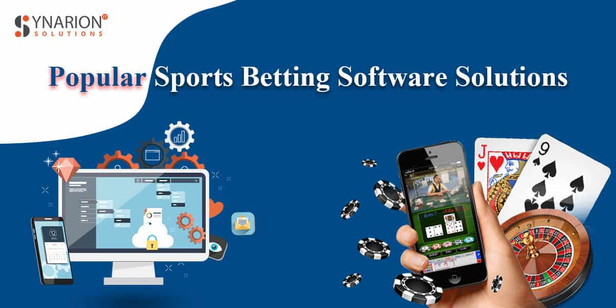 Popular sports betting software solutions