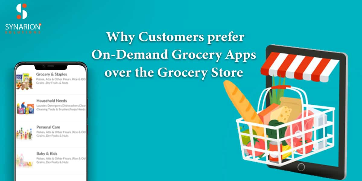 On Demand Grocery App