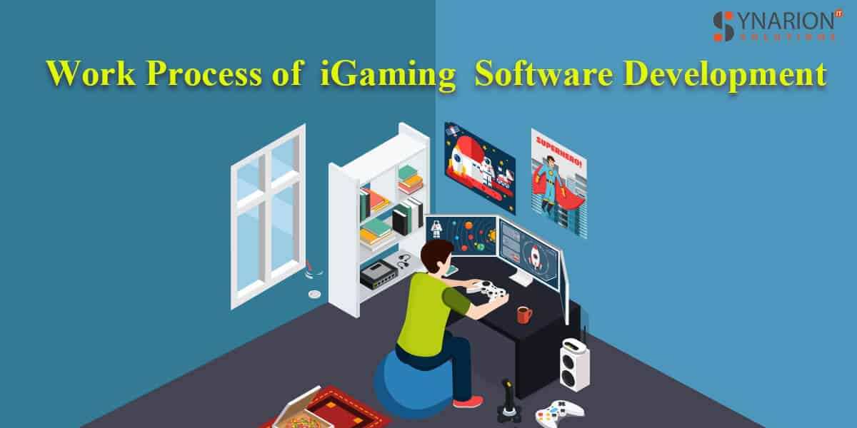 Work process of iGaming Software Development