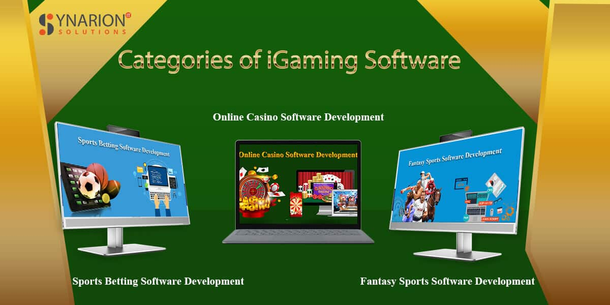 Categories of iGaming Software