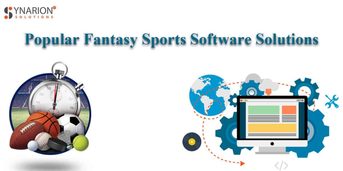 Popular fantasy sports software solutions