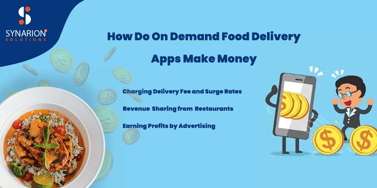 How Do On-Demand Food Delivery Apps Make Money