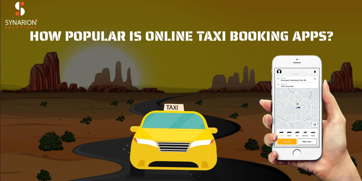 How popular is online taxi booking apps