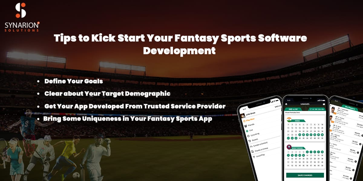 tips to start your fantasy sports software developmet