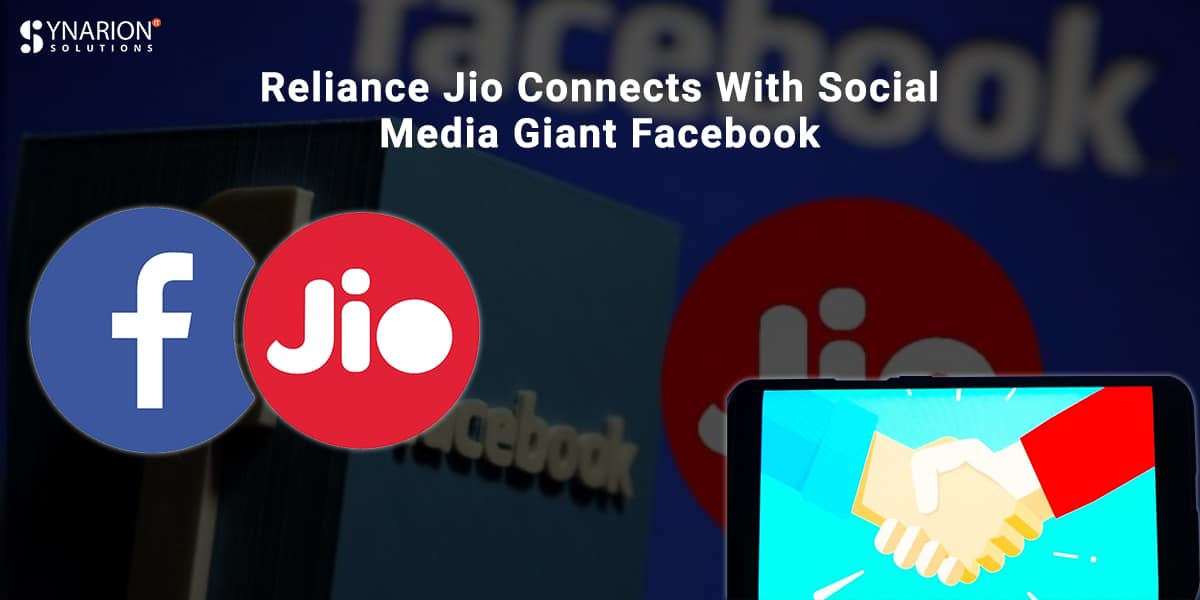Reliance Jio Connects With Social Media Giant Facebook