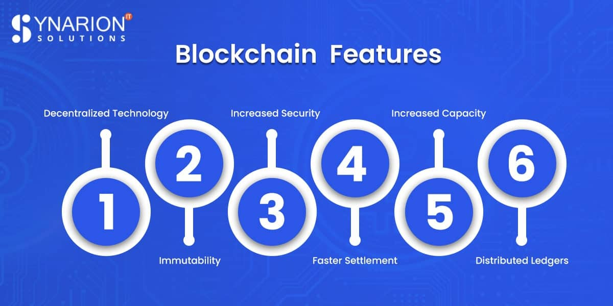 security features of blockchain