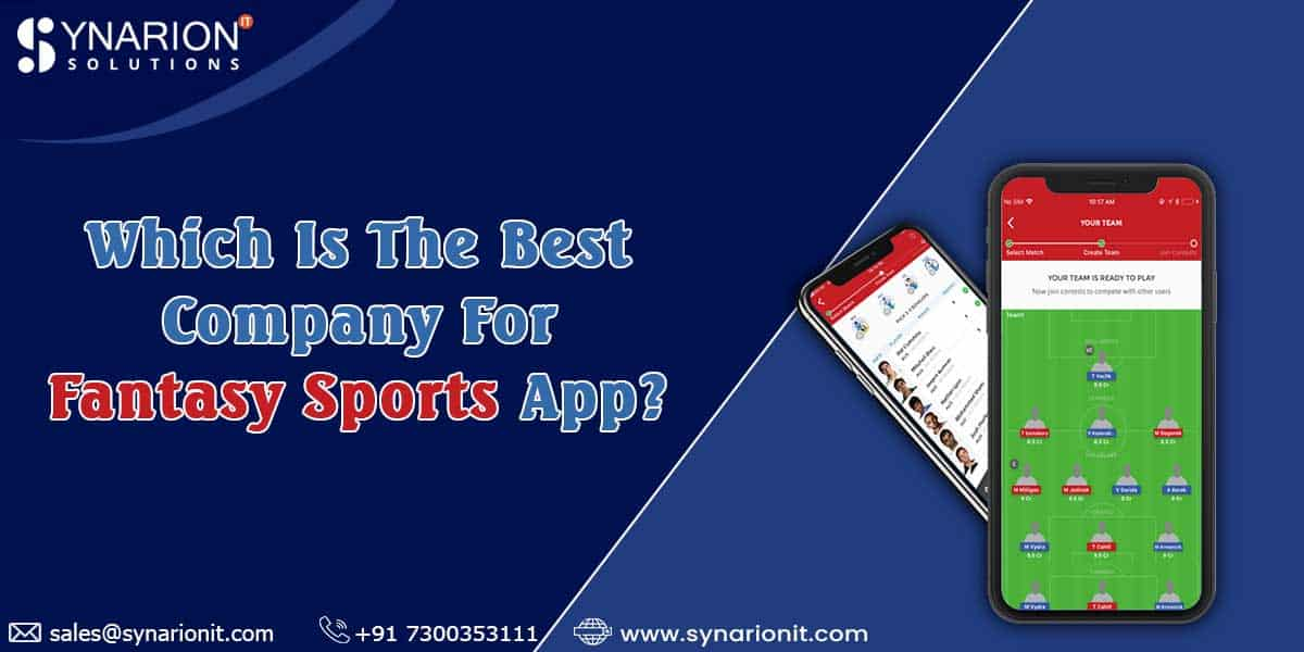 Which Is The Best Company For Fantasy Sport App?