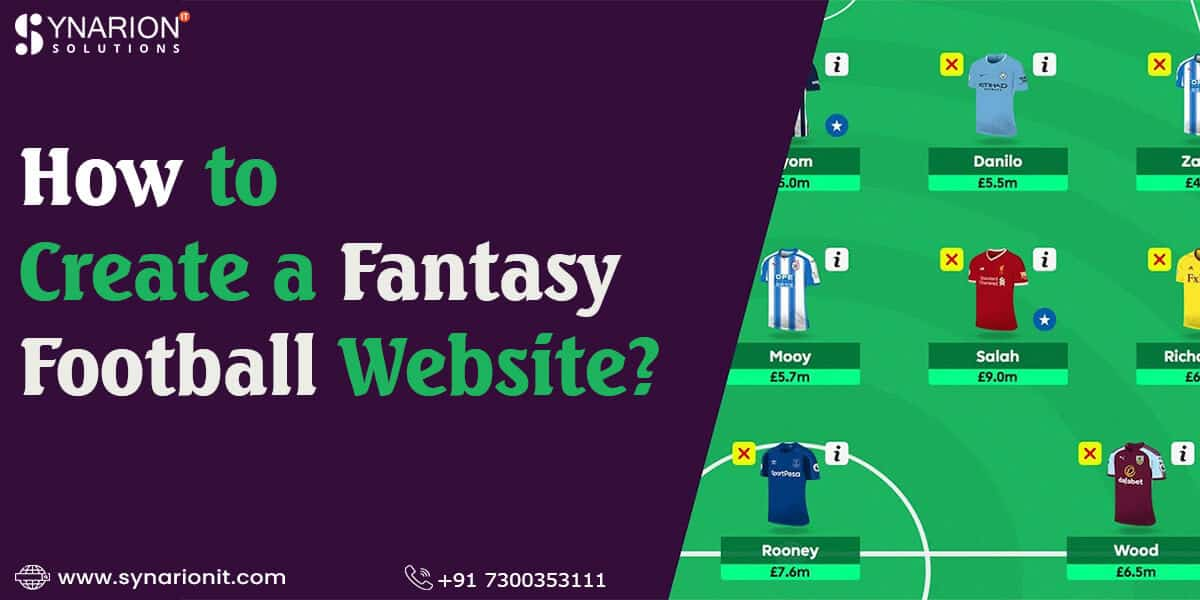 How to Create a Fantasy Football Website?