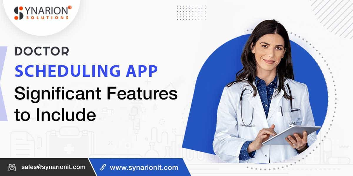 doctor appointment booking app development