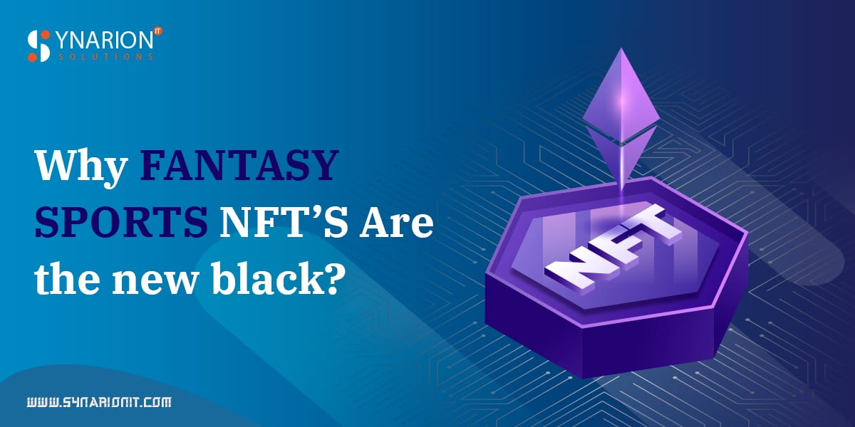 Why Fantasy Sports NFT'S Are the New Black?