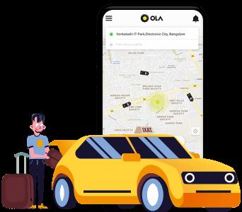 Taxi Booking App Development Company | Cab Software like Ola